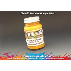 ZERO PAINTS 1063 - Farba Mclaren Orange 60ml