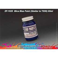 Farba ZERO PAINTS 1025 - Mica Blue Paint (TS50) 60ml