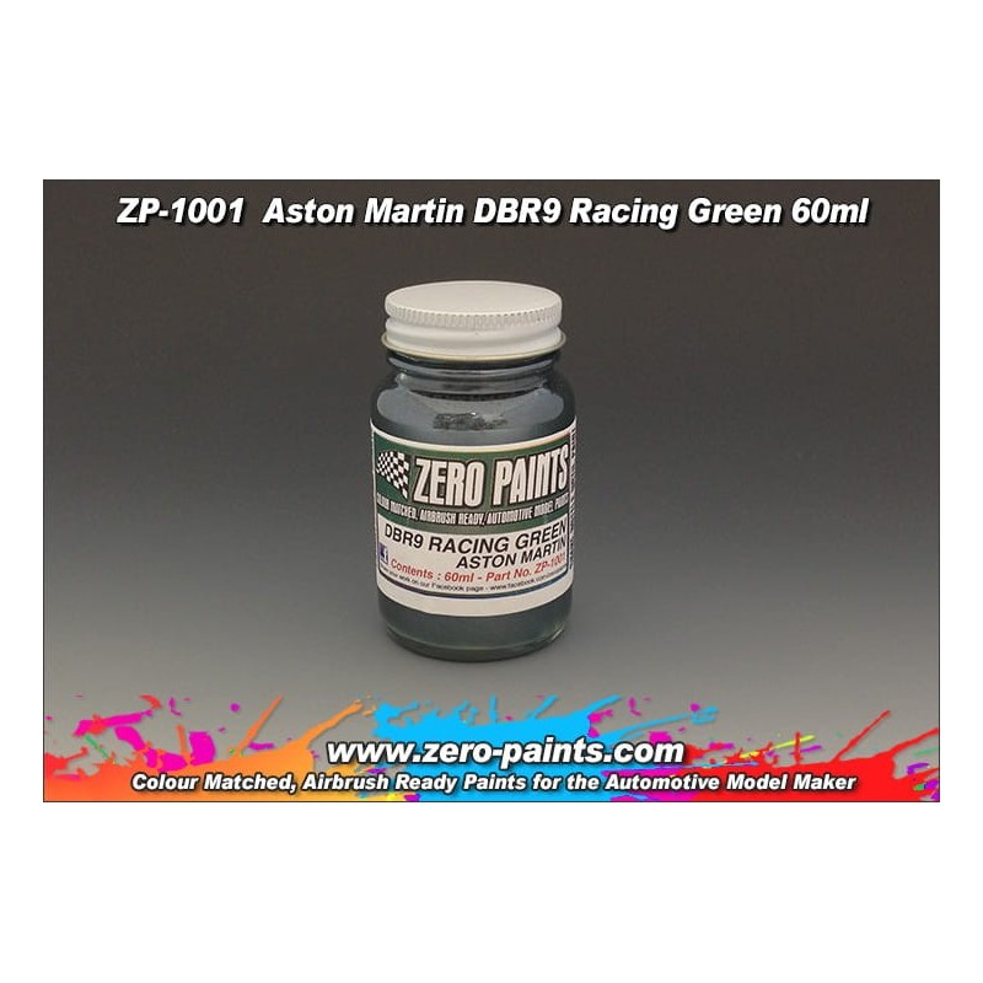 Farba ZERO PAINTS ZP1001 - Aston Martin DBR9 Racing Green 60ml