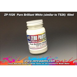 Farba ZERO PAINTS 1026 - Pure Brilliant White Paint Similar TS26