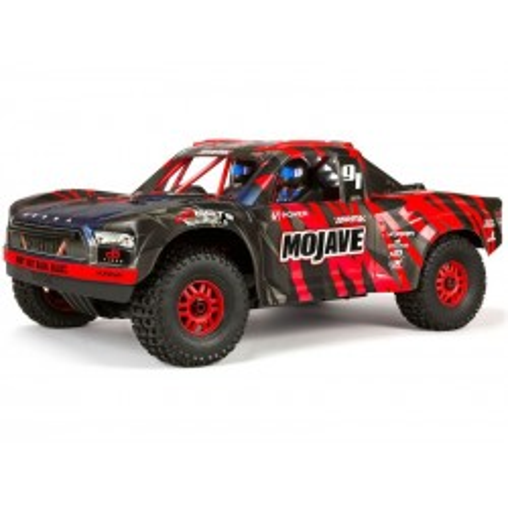 Arrma Mojave 6S BLX 4WD RTR - Czerwono-Czarno