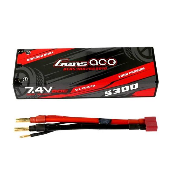 Akumulator Gens Ace 2200mAh 7,4V 50C 2S1P XT60 Hard Case