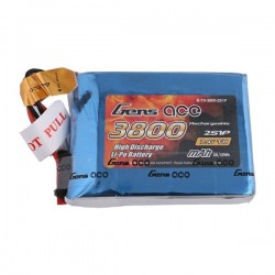 Akumulator Gens Ace 3800mAh 7.4V 1C 2S1P do Taranis Q X7