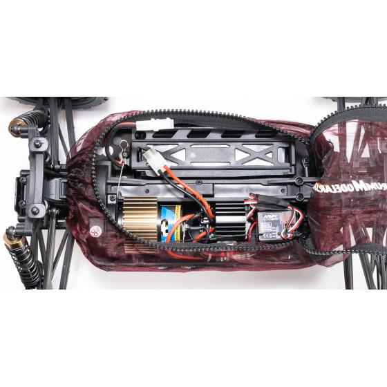 Traxxas Land Rover Defender - czerwony