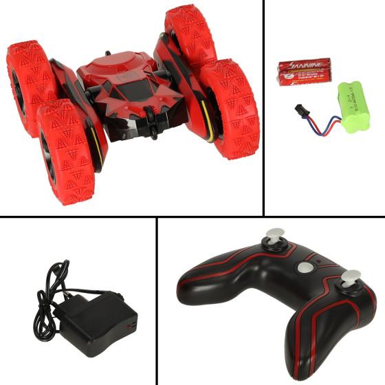 TRAXXAS 6717T - karoseria Rustler 4X4 VXL - pomarańczowa