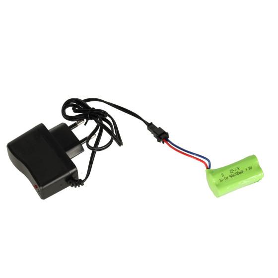 TRAXXAS 6717X - karoseria Rustler 4X4 VXL - niebieska